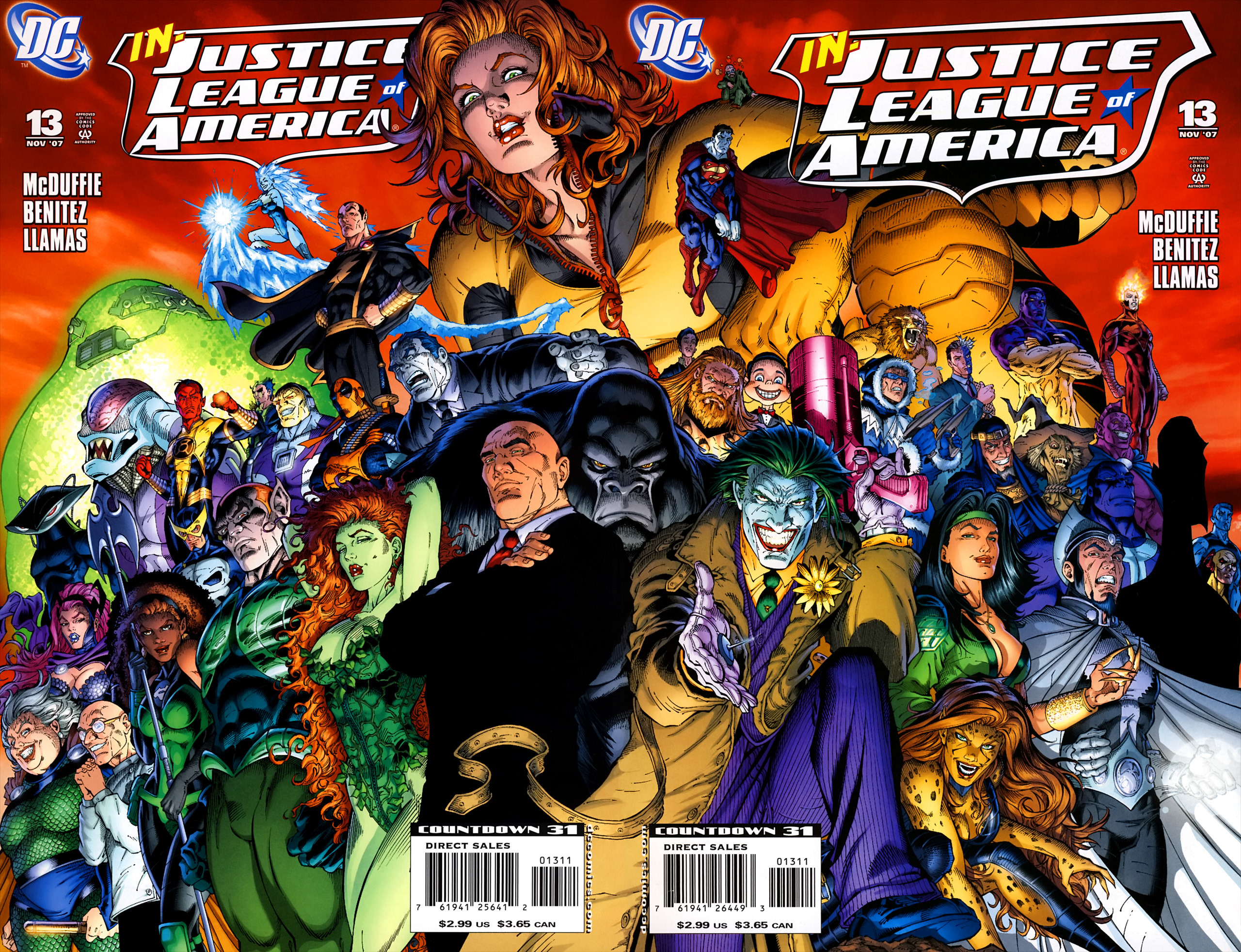 Justice League United #13   NEW!!!
