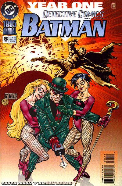 Bildergebnis für Detective Comics(Vol. 1) Annual #8 (1995)