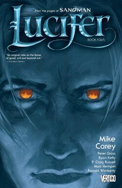 Cover for the Lucifer: Book Four Trade Paperback