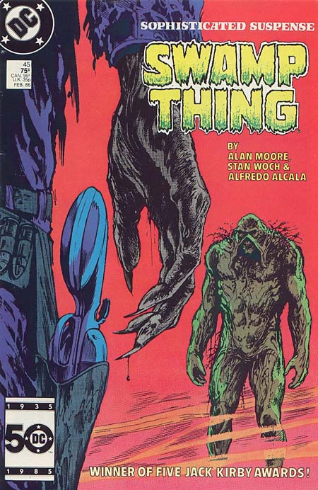 Swamp Thing Vol 2 45 Dc Database Fandom Powered By Wikia