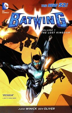 Cover for the Batwing: The Lost Kingdom Trade Paperback