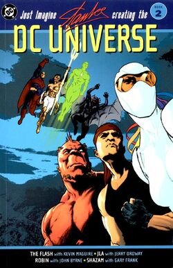 Cover for the Just Imagine Stan Lee Creating the DC Universe Vol. 2 Trade Paperback
