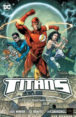 Cover for the Titans: Together Forever Trade Paperback