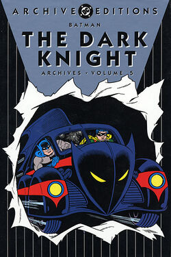Cover for the Batman: The Dark Knight Archives Vol 5 Trade Paperback