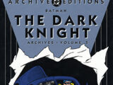 Batman: The Dark Knight Archives Vol 5 (Collected)