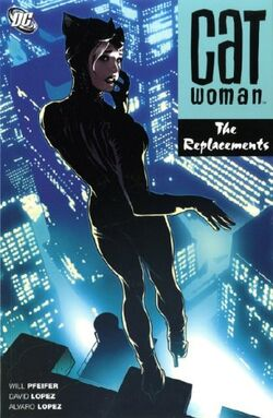 Cover for the Catwoman: The Replacements Trade Paperback
