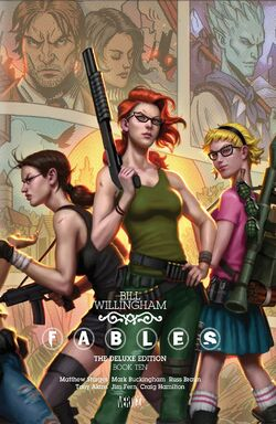 Cover for the Fables: The Deluxe Edition - Book Ten Trade Paperback