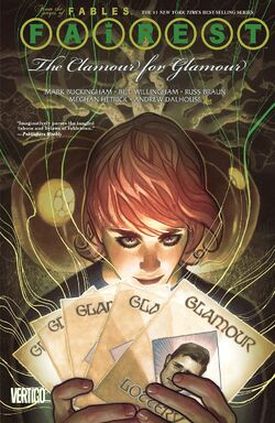 Cover for the Fairest: The Clamour for Glamour Trade Paperback