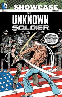 Cover for the Showcase Presents: Unknown Soldier Vol. 2 Trade Paperback