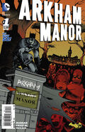 Arkham Manor Vol 1 1