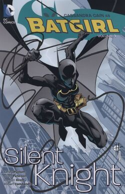 Cover for the Batgirl: Silent Knight Trade Paperback