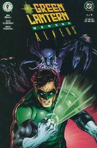 Green Lantern vs. Aliens Vol 1 1