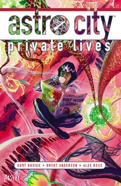 Cover for the Astro City: Private Lives Trade Paperback