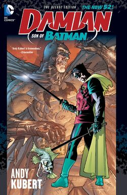 Cover for the Damian: Son of Batman Trade Paperback