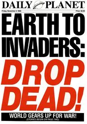Earth to Invaders Drop Dead
