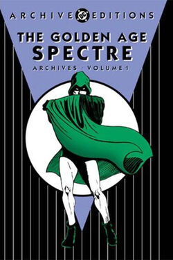 Cover for the The Golden Age Spectre Archives Vol. 1 Trade Paperback