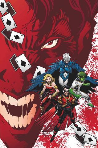 File:Teen Titans Vol 5 9 Textless Joker Variant.jpg