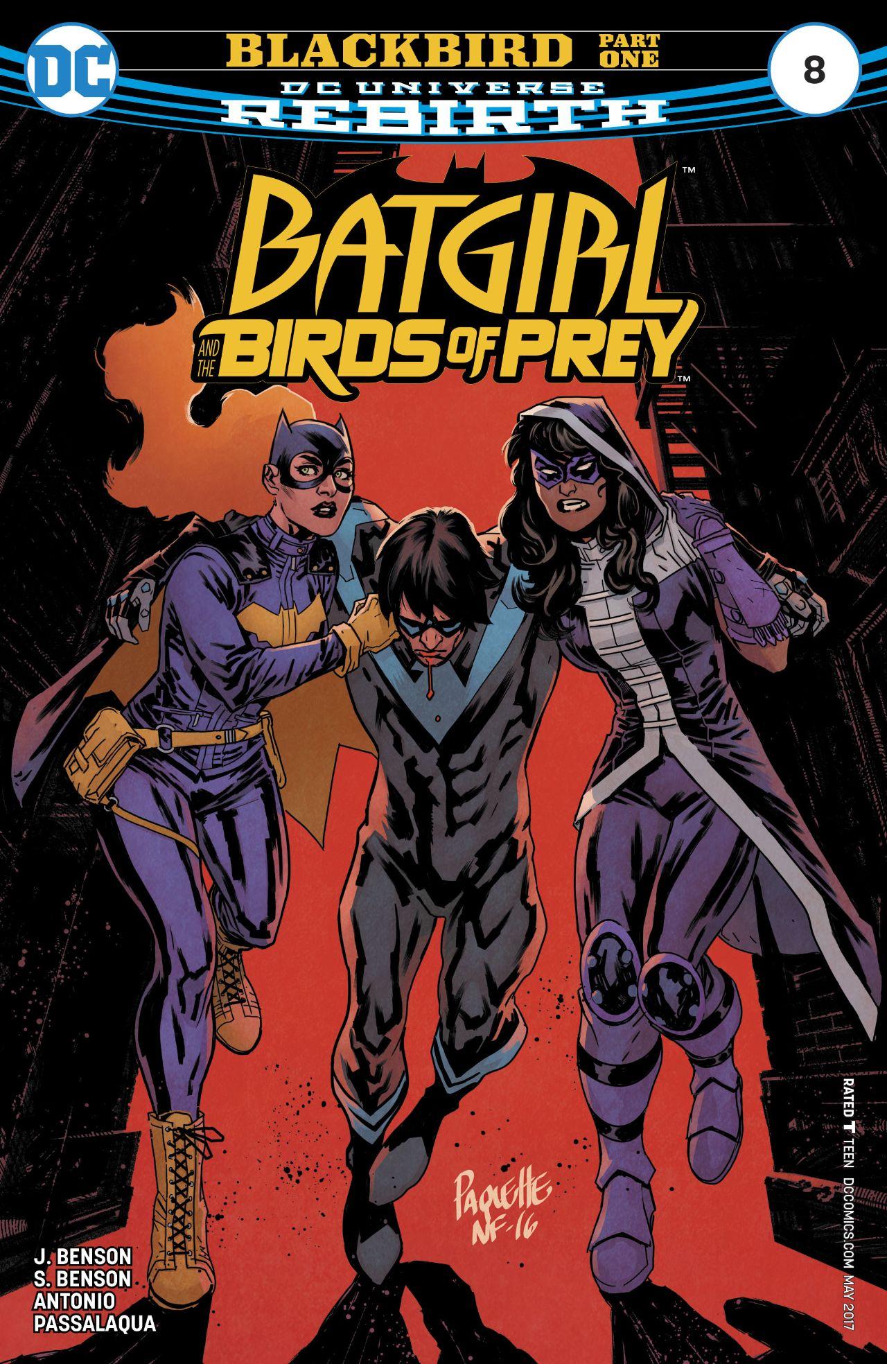 Batgirl and the Birds of Prey Vol 1 8 | DC Database | FANDOM