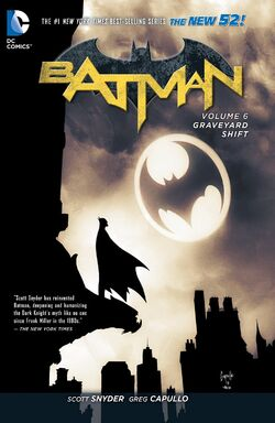 Cover for the Batman: Graveyard Shift Trade Paperback