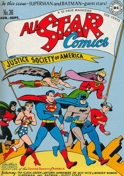 Image result for All-Star Comics #36