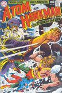 Atom and Hawkman 42
