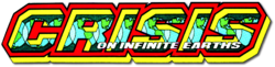 Crisis on Infinite Earths (1985) logo