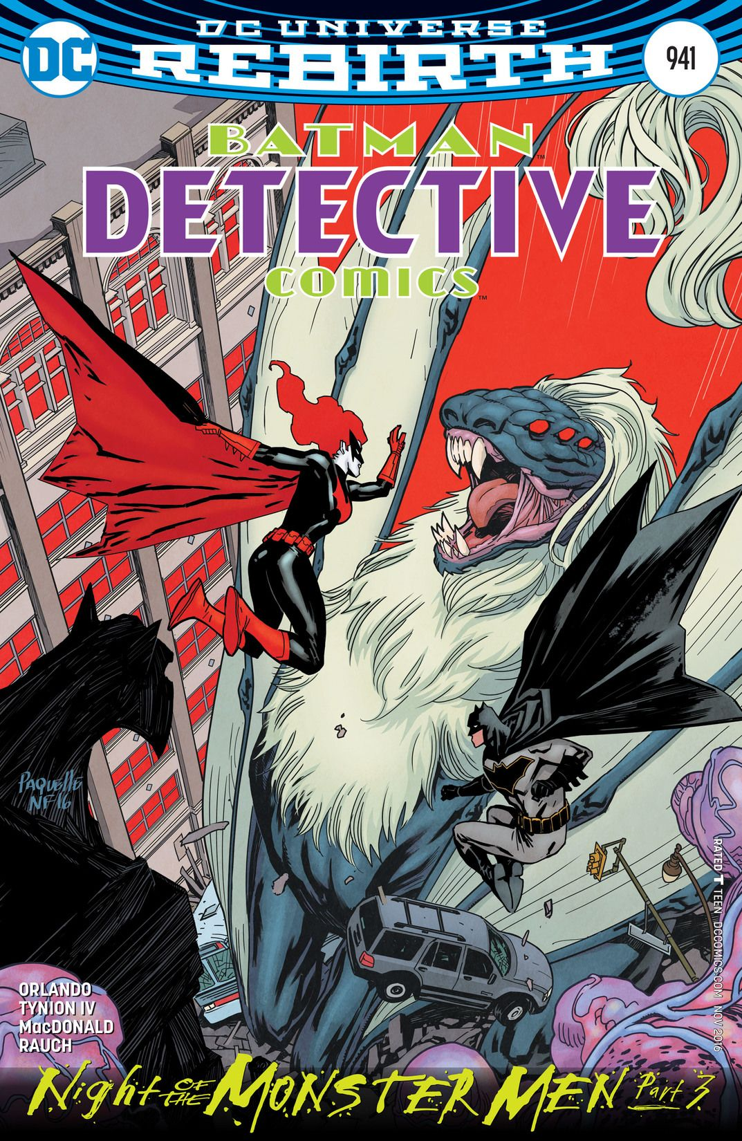 941 For 2016 >> Detective Comics Vol 1 941 Dc Database Fandom Powered By Wikia