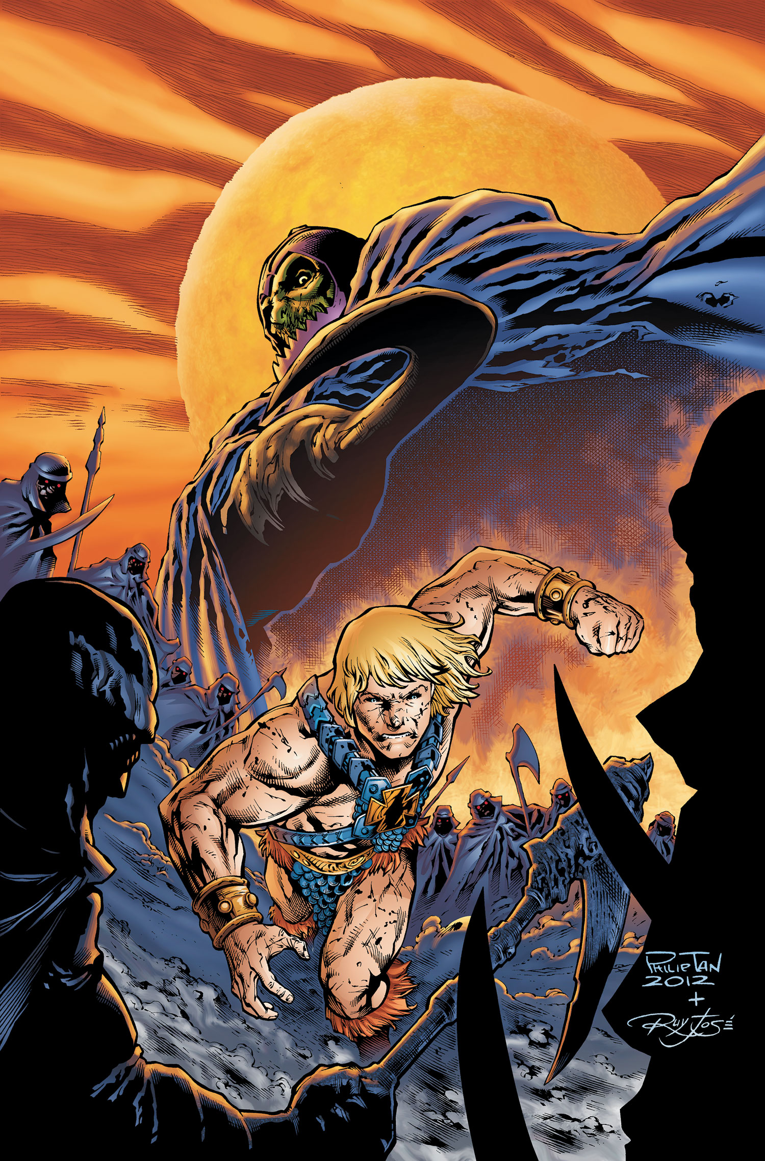 He Man And The Masters Of The Universe Vol 1 2 Dc Database Fandom