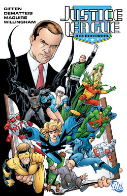 Cover for the Justice League International: Volume Two Trade Paperback