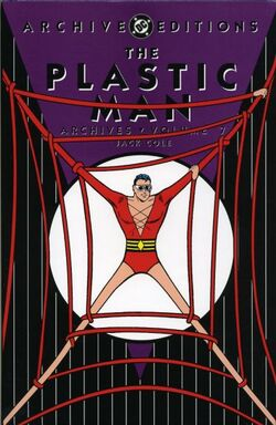 Cover for the Plastic Man Archives Vol. 7 Trade Paperback