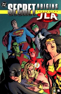 Cover for the Secret Origins Featuring the JLA Trade Paperback