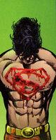 "Superboy's new ""S"""
