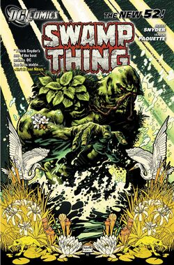 Cover for the Swamp Thing: Raise Them Bones Trade Paperback