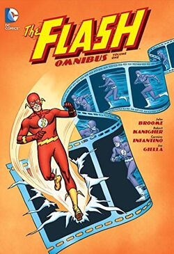 Cover for the The Flash Omnibus Vol. 1 Trade Paperback
