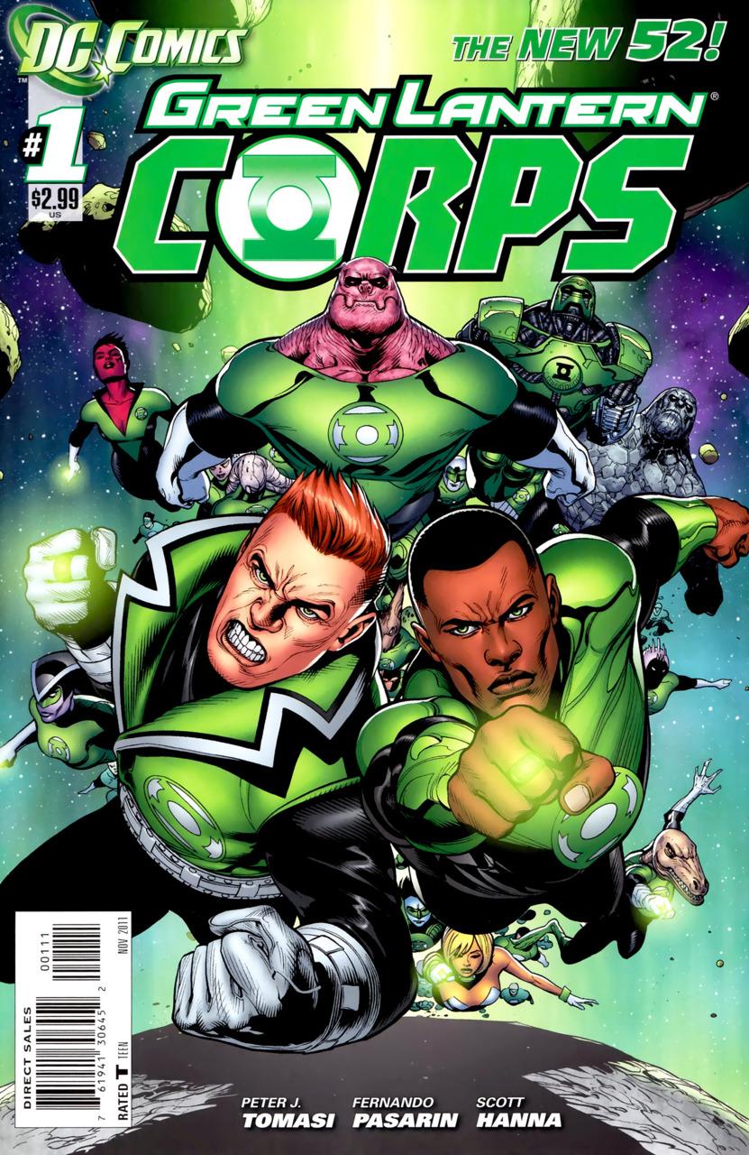 GREEN LANTERN CORPS #17  New 52  DC Comics 2013 NM