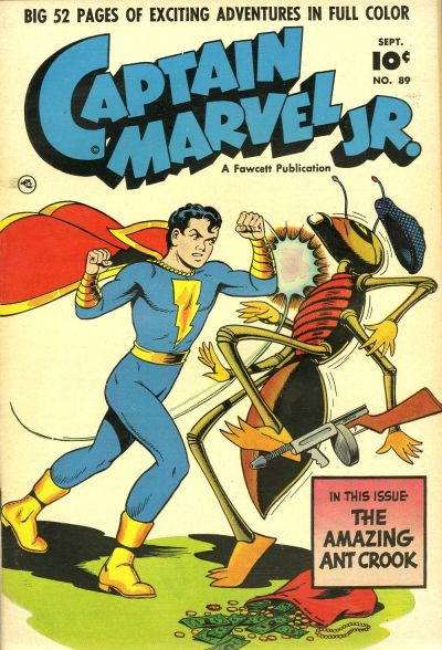 Captain Marvel Jr Vol 1 89 Dc Database Fandom Powered By Wikia