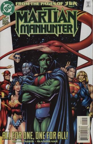 Image result for tom mandrake martian manhunter 9