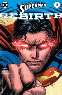 Superman Rebirth Vol 1 1