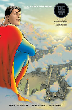 Cover for the All-Star Superman Trade Paperback