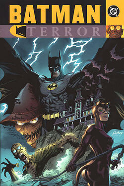 Cover for the Batman: Terror Trade Paperback