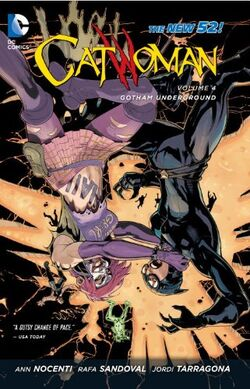 Cover for the Catwoman: Gotham Underground Trade Paperback