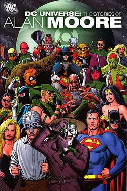 Cover for the DCU: The Stories of Alan Moore Trade Paperback