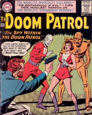 Doom Patrol Vol 1 90 Dc Database Fandom