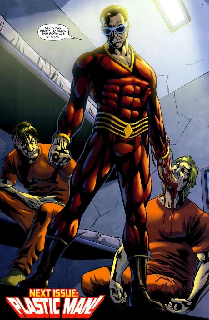 DC justice league Plastic Man