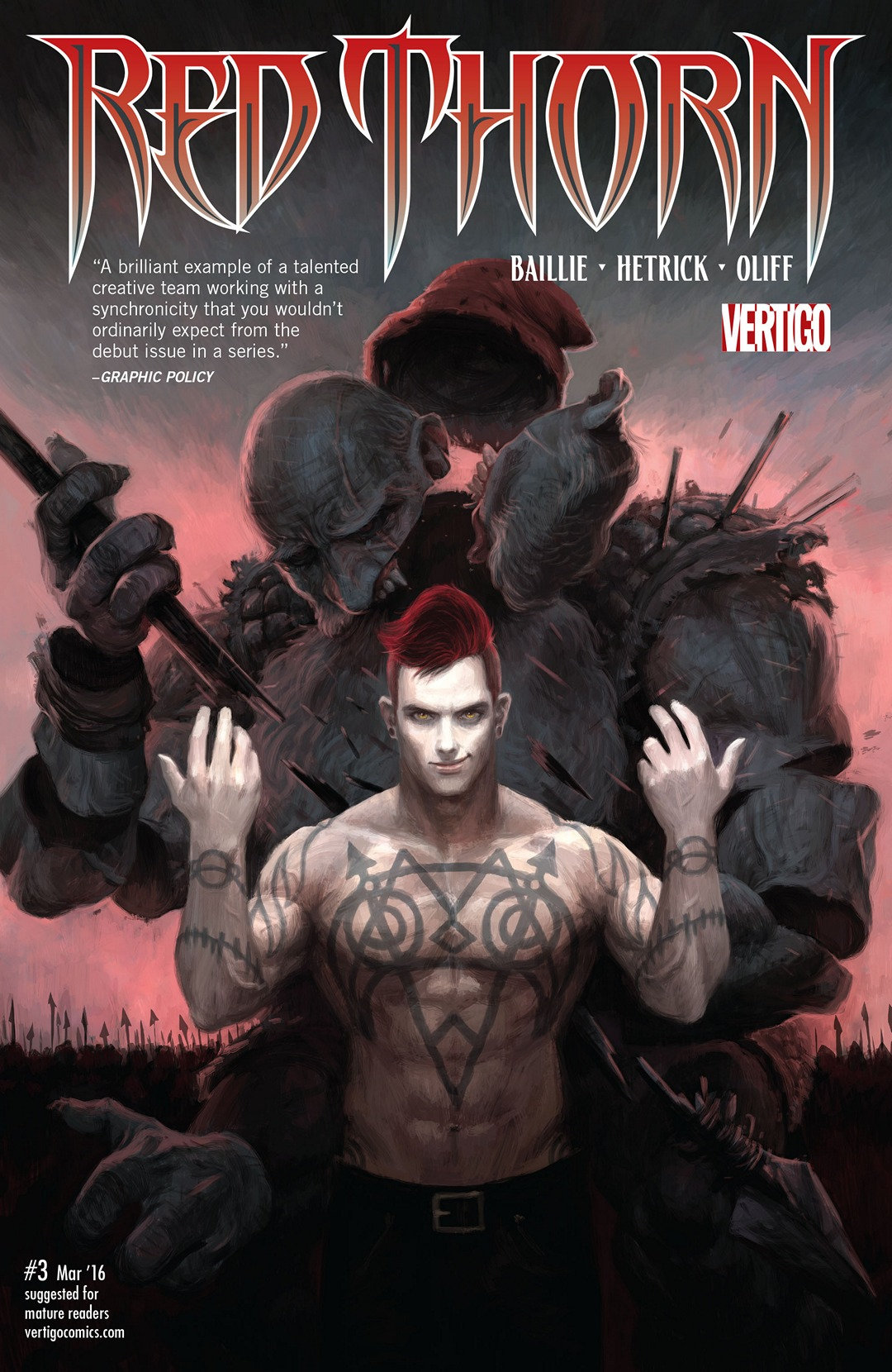 Red Thorn Vol 1 3