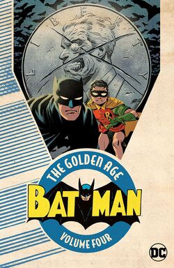Cover for the Batman: The Golden Age Vol. 4 Trade Paperback