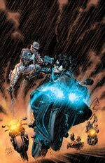 Honor destroys Nightwing's bike