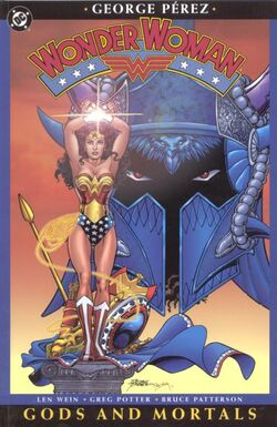 Cover for the Wonder Woman: Gods and Mortals Trade Paperback