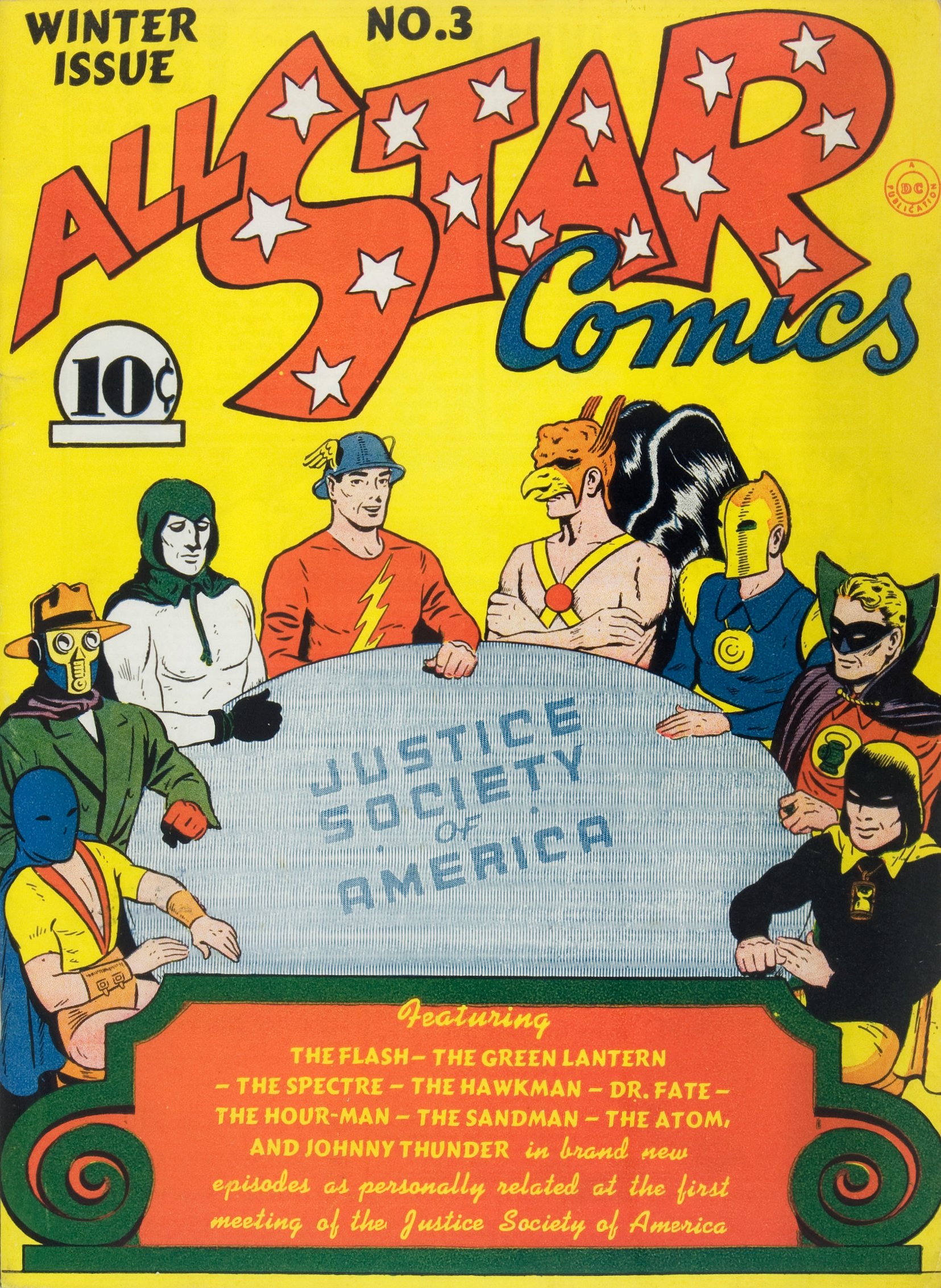 Image result for all star comics 3