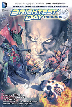 Cover for the Brightest Day Omnibus Trade Paperback